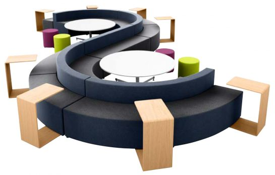 S Curve Seating